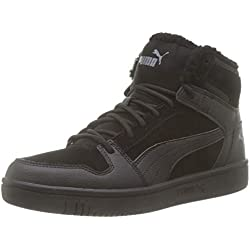 Puma 369831 Baskets Mixte Adulte - Noir (Puma Black-Castlerock 01) - 43 EU
