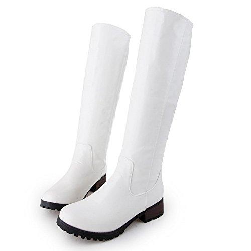BalaMasa - Pantofole a Stivaletto donna White