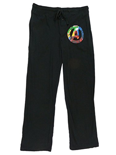 Marvel Mens Black Avengers Alter von Ultron Schlafhose Pyjama Bottoms S