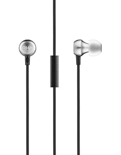 Tragbare Media-luft (RHA MA390 Universal: Geräuschisolierende Aerophonic Im-Ohr-Kopfhörer mit Universalfernbedienung und Mikrofon)
