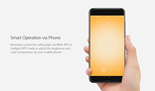 Plafoniere Wifi : Yeelight smart led plafoniera 450mm u2013 supporto wifi amazon alexa