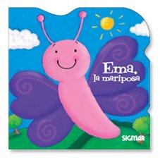 Emma, la mariposa/Emma, the Butterfly (Brillantina/Glitter)