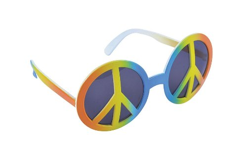 Rainbow Peace Glasses