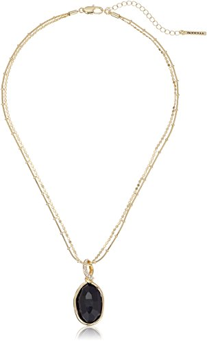 t-tahari-faceted-stone-drop-gold-pendant-necklace