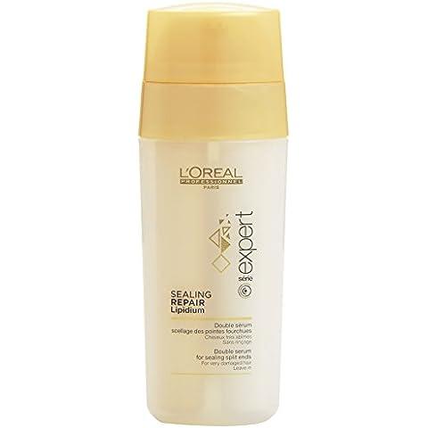 L'Oréal Professionnel Expert - Expert Sealinf repair lipidium - Doble serum para sellado de puntas abiertas en cabellos muy estropeados - 30
