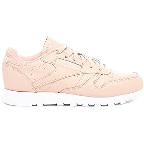 Reebok Classic Leather Nt Mujer Zapatillas Rosa