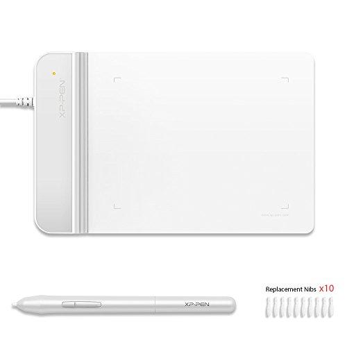 XP-Pen G430 4 x 3 Pollici Ultrasottile Grafico Tavoletta grafica per Game osu (Bianca)