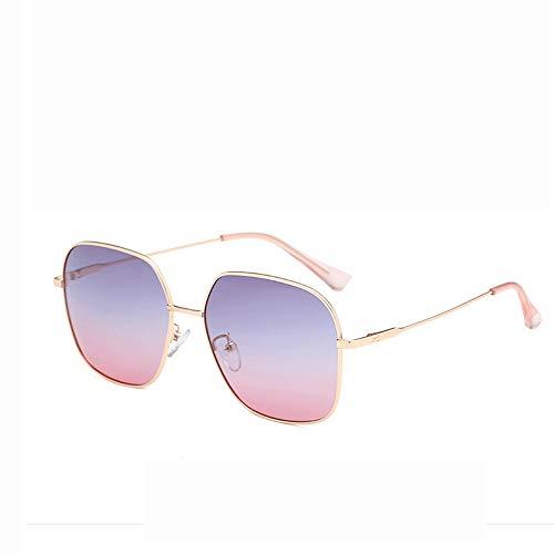 MIAOMIAOWANG Wayfarer Sonnenbrillen Polarisierte Linse gespiegelt Unisex polarisierte Sonnenbrille Vintage Sonnenbrille Stil Unisex-Farben (Farbe : Rosa, Größe : Casual Size)