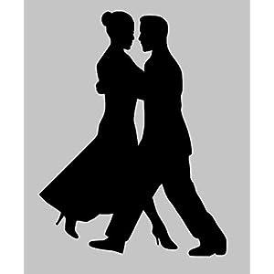 Aufkleber Tanzen Nr. 9