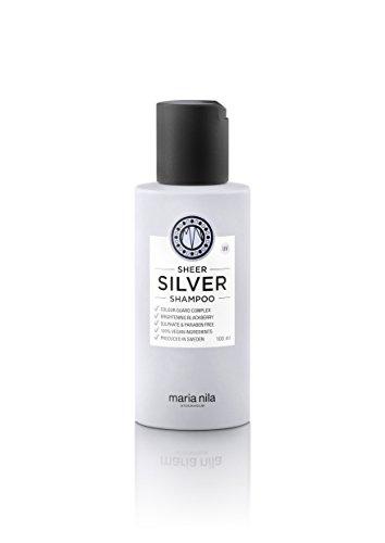 Maria Nila Sheer Silver Shampoo, 100 ml