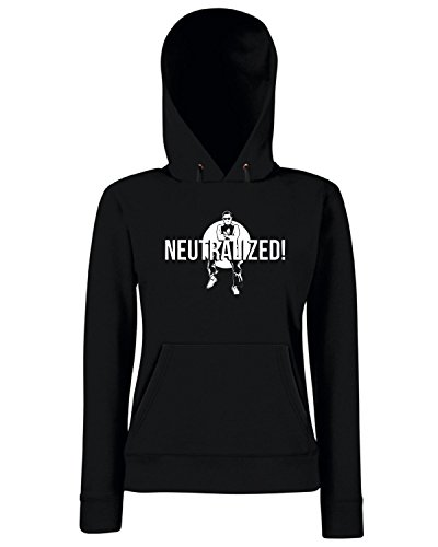 T-Shirtshock - Sweats a capuche Femme FUN0233 09 26 2012 gangnam style SHIRT neutralized Noir