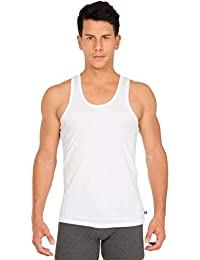 Jockey Men's Cotton Vest (Pack of 3) (Modern Classic)(Colors & Print May Vary)