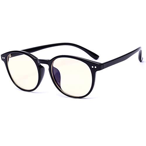 SIPHEW Blaulicht Brille Schützt die Augen-Anti Augen Ermüdung und Besserer Schlaf-TR90 Flexibel Rahmen