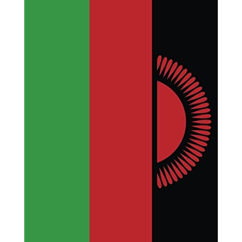 Flag of Malawi Notebook: College Ruled Writer's