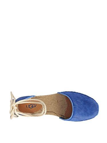 Ugg Australia Espadrilles Libbi Calf Hair Bleu