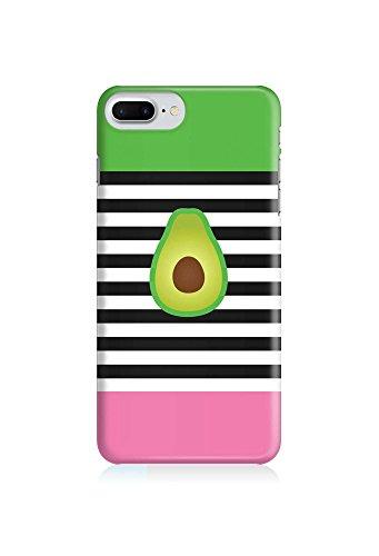 COVER Avocado Streifen Essen food Design Handy Hülle Case 3D-Druck Top-Qualität kratzfest Apple iPhone 7 Plus Top Essen