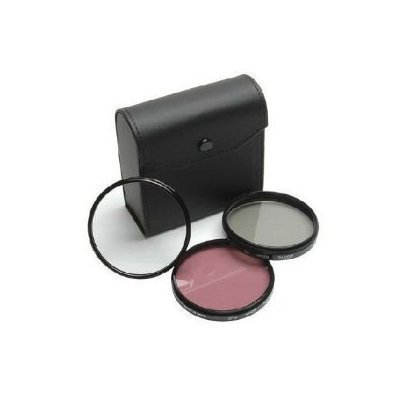 Canon XH-A1, XH-G1 - 72mm High-Resolution-3-Stück-Filter-Set (UV, Fluoreszenz, Polfilter) Hochauflösend (kein Canon Produkt)