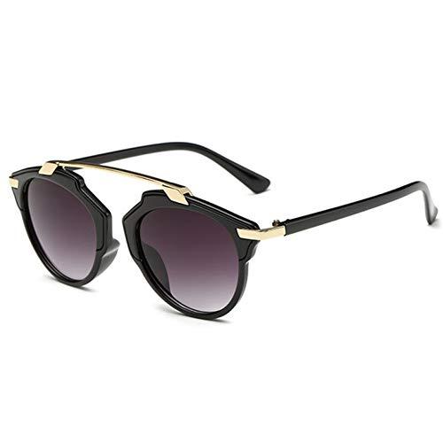 Liuao 2019 Sonnenbrillen- Frauen müssen mehrere Farbbrillen Brillen UV400 Personalisieren,Gray