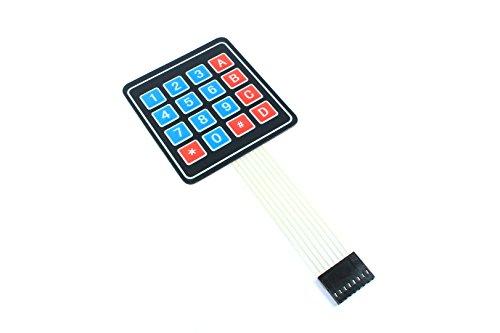 4x 4Tastatur Membran Matrix Modul 8Pin PI Raspberry Uno Arduino - Membran-module