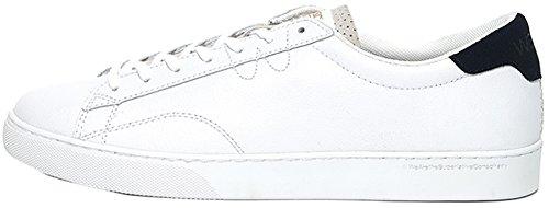 Wesc Men's Men's White Low-Top Sneakers In Size 46 White
