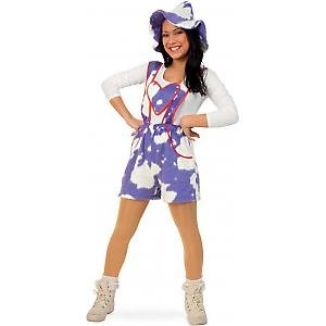 FASCHING 10650 Kostüm Babsi Shorty Kuh-Hose lila NEU/OVP: Größe: 38