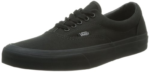 Vans Era Classic Canvas, Sneaker a Collo Basso Unisex - Adulto, Nero (Black/Black), 41 EU (7.5 UK)