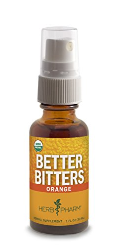 Herb Pharm Better Bitters, Orange, 30ml