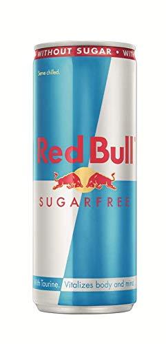 Red Bull Sugar-Free Energy Drink (250 ml) - Pack of 12