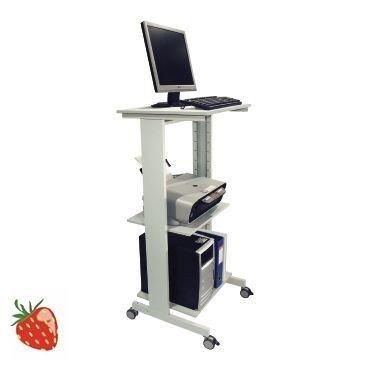 Value Brand PC-Arbeitstisch fahrbar lichtgrau H670xB600xT500mm