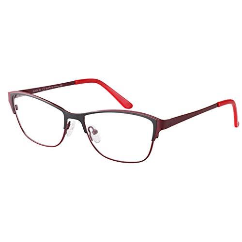 ZY Reading Glasses Lesebrille, Verfärbung Außensonnenschutzbrille Sonnenbrille Anti-Strahlung Ultraviolett, Federscharniere Edelstahlmaterial Sun-Leser, für Frau