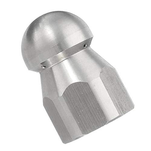KESOTO Hochdruckreiniger Abwasserkanal Reinigungsrohr Jetter Rotary Nozzle - D: Runder Kopf
