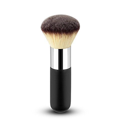 Fashion Base® Pro Buffer Poudre libre Maquillage Brush-premium synthétique Maquillage Brush-blush Make Up Brushes-foundation Poudre bronzante Blush Maquillage Brosse Brushes-kabuki Tools- Cosmetics Ensemble de pinceaux/kit