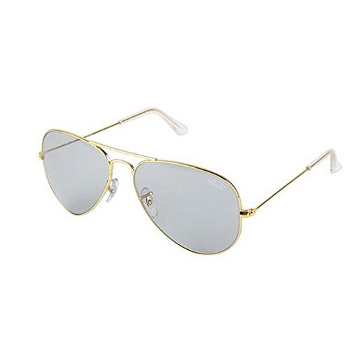 Ray-Ban Aviator Men Sunglasses (0RB3025IL174458, M...