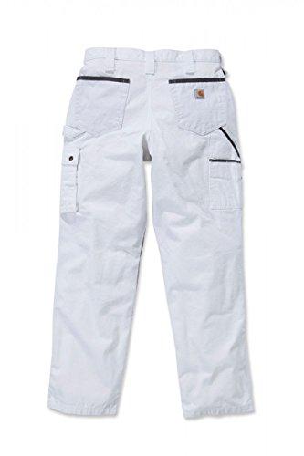 Carhartt Hose Ripstop Multipocket Handwerker 100233 White