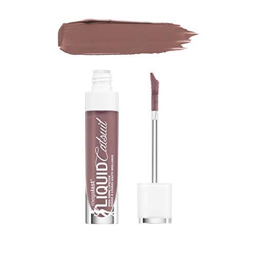 Wild Wild Shine Lippenstift ((6 Pack) WET N WILD MegaLast Liquid Catsuit High-Shine Lipstick - Mauve Over Girl)