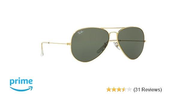 6db4d85bfaba7 Rayban Aviator unisex Sunglasses (RB3026