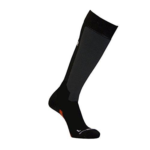 MOOSE SKIALP Socken Merinowolle und Silberfasern, Skisocken, Snowboardsocken uni M (40-41) (Socken Leichte Merinowolle)