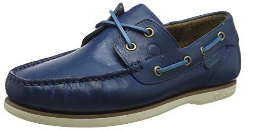 Chatham Newton, Náuticos Hombre, Azul Azzure 001