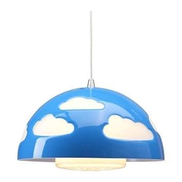 IKEA SKOJIG – Lampadario a sospensione, colore: blu: Amazon.it ...