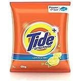 Tide Plus Detergent Powder, Lemon and Mint - 1 kg