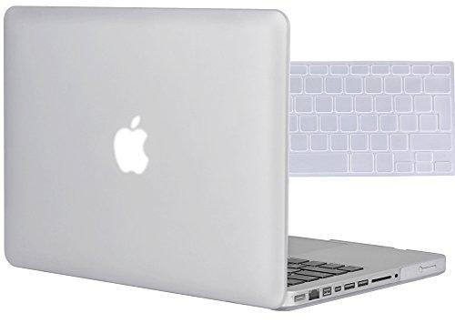 Topideal, cover rigida 2 in 1; cover morbida, satinata e liscia al tatto, per Apple MacBook Pro da 15,4'/15' (modello A1286) + copri tastiera (layout americano)