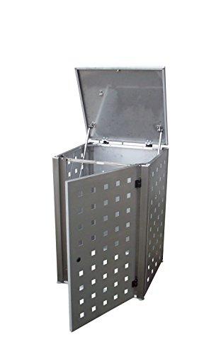 Mülltonnenbox, Müllbehälterverkleidung, Mülleimerverkleidung, Müllbox, Eleganza, - 3