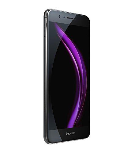 Honor 8 - Smartphone libre Android  pantalla 5 2   4G  WiFi  Bluetooth  32 GB  4 GB RAM  Dual Nano SIM  c  mara de 12 MP 8 MP   color negro