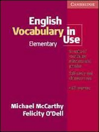 English Vocabulary in Use Elementary, with Answers by Michael McCarthy (1999-05-28)