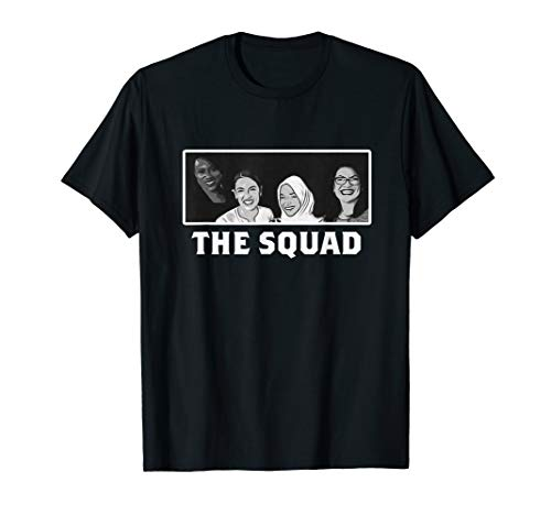 The Squad Die Trupps der progressiven Kongressabgeordneten T-Shirt (Is Outfit Orange Black The New)