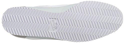 Nike Damen Wmns Classic Cortez Nylon Laufschuhe Elfenbein (Pure Platinumwhite)