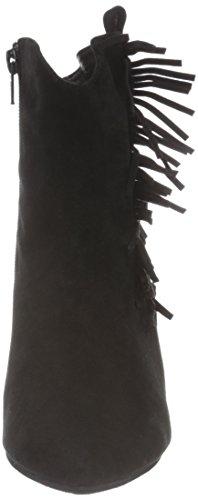 Sofie Schnoor Damen Wedge W. Fringe Kurzschaft Stiefel Schwarz (Black)
