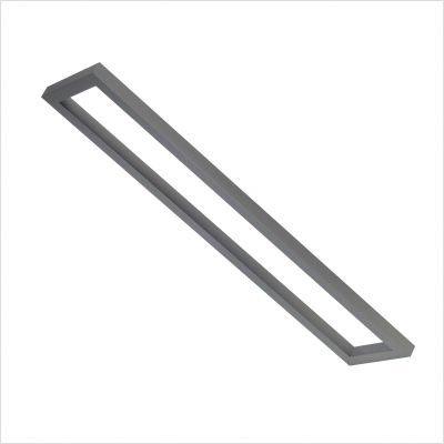 SLV 154704 AIXLIGHT pendulum SYSTEM 1,1m base frame, silvergrey