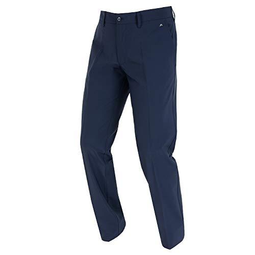 J.Lindeberg Ellott Pantalon de Golf pour Homme, Marine (300), 32W 2d7dd0988c9f