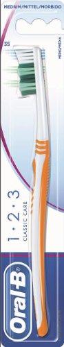 Oral-b zahnbürste 1 2 3 classic care mittel 3014260746773